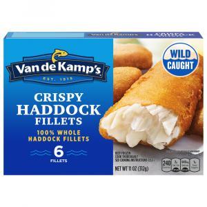 Van de Kamp's Battered Haddock Fillets