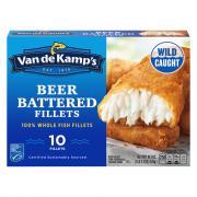 Van de Kamp's Beer Battered Fish Fillet