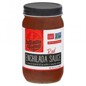 La Tortilla Factory Gluten Free Red Enchilada Sauce