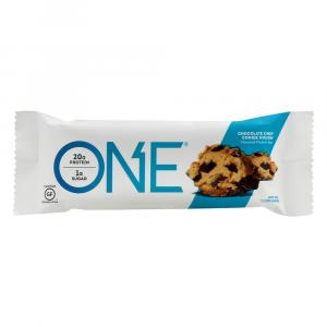 One Bar Chocolate Chip Cookie Dough Protein Bar