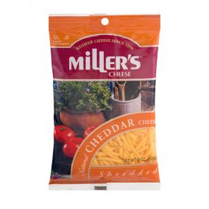 Miller's Shredded Natural Cheddar Cheese