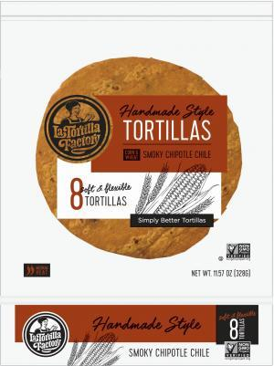 LaTortilla Factory Smoky Chipotle Tortillas