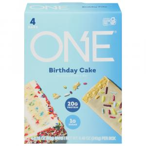 One Birthday Cake Protein Bars