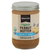 Woodstock Farms Organic Smooth Peanut Butter