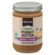 Woodstock Farms Organic Smooth No Salt Peanut Butter