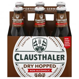 Clausthaler Dry Hopped Non-Alcoholic Beer