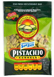 Keenan Farms Sea Salt No Shell Pistachios