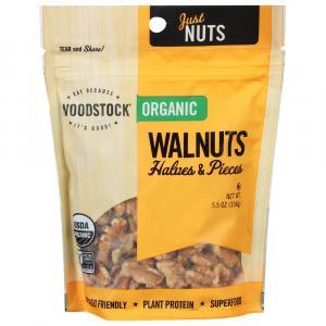 Woodstock Farms Organic Walnut Halves & Pieces