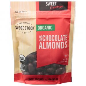 Woodstock Farms Dark Chocolate Almonds