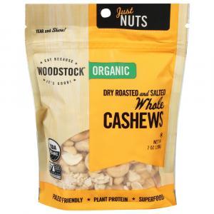 Woodstock Farms Organic Whole Large Cashews