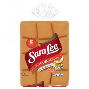 Sara Lee Sweet Hawaiian Dinner Rolls