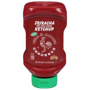 Sriracha Hot Chili Sauce Ketchup