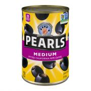 Pearls Medium Pitted Ripe Black Olives