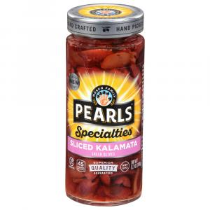 Pearls Specialties Sliced Kalamata Greek Olives