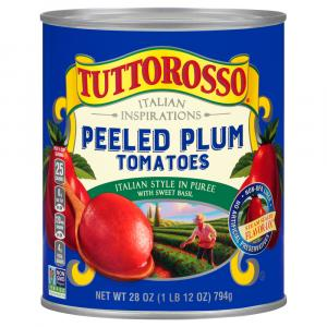 Tuttorosso Italian Peeled Plum Tomatoes in Puree With
