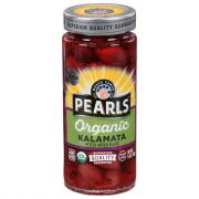 Pearls Organic Pitted Kalamata Greek Olives