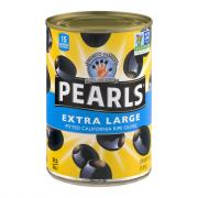 Pearls Extra Large Pitted Ripe Black Olives