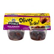 Pearls Olives To Go! Kalamata Olive Snack Cups