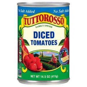Tuttorosso No Salt Added Diced Tomatoes