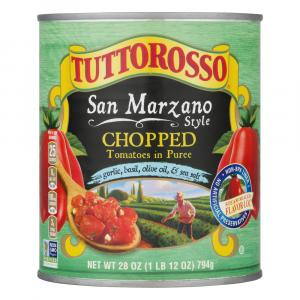 Tuttorosso San Marzano Style Chopped Tomatoes With Garlic