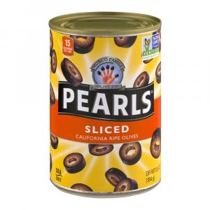 Pearls Sliced California Ripe Olives