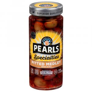 Pearls Pitted Medley Greek Olives