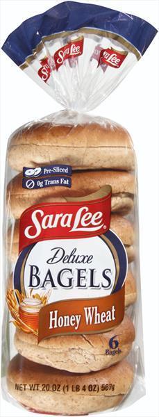 Sara Lee Honey Wheat Bagels