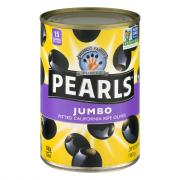Pearls Jumbo Pitted Ripe Olives