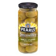 Pearls Specialties Garlic Stuffed Spanish Queen Olives