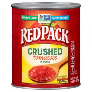Red Pack Crushed Tomato in Puree