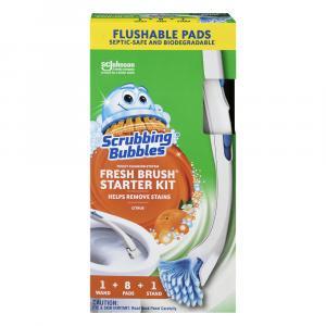 Scrubbing Bubbles Fresh Brush Starter Kit Citrus
