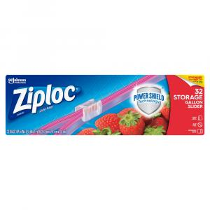 Ziploc Slider Storage Gallon Bags