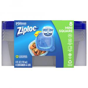 Ziploc Extra Small Square Containers