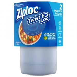 Ziploc Twist & Lock 4-Cup Containers