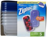 Ziploc Small Rectangle Containers