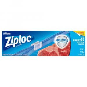 Ziploc Slider Stand & Fill Gallon Freezer Bags