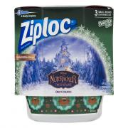 Ziploc Holiday Small Round Twist N Loc Red Containers