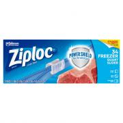 Ziploc Slider Stand & Fill Quart Freezer Bags