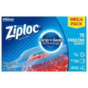 Ziploc Quart Freezer Mega Bags