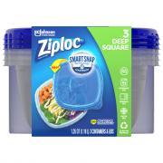 Ziploc Medium Square Containers