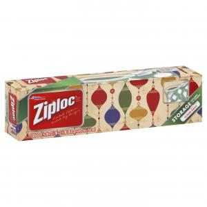 Ziploc Holiday Slider Storage Bags Gallon