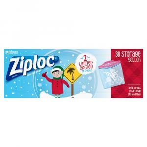 Ziploc Holiday Gallon Storage Bags