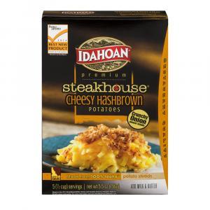 Idahoan Steakhouse Cheesy Hashbrown Potatoes