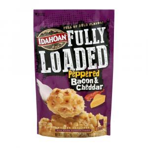 Idahoan Fully Loaded Peppered Bacon & Cheddar Mash Potatoes