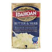 Idahoan Butter & Herb Instant Potatoes