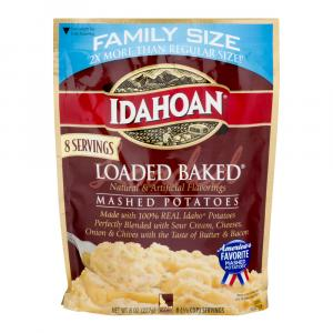 Idahoan Family Size Loaded Baked Mashed Potatoes