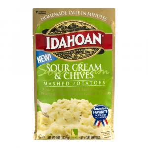Idahoan Sour Cream & Chives Mashed Potatoes