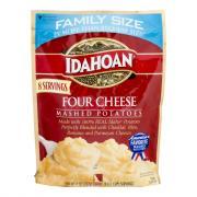 Idahoan Four Cheese Family Size Mashed Potatoes