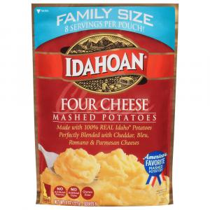 Idahoan Four Cheese Family Size Mashed Potatoes