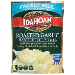 Idahoan Family Size Roasted Garlic Mashed Potatoes
